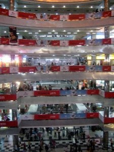 Shopping mall in Dhaka, Bangladesh