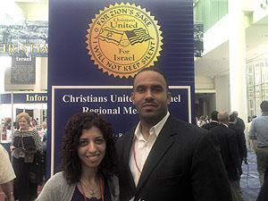 Authors Hassen and Muhammad at the conference