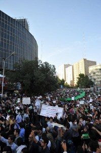 Protests in Iran. CC-licensed Wikimedia photo.