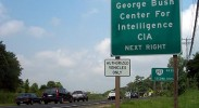 CIA sign. CC licensed photo by deepsignal.