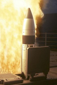 Standard SM-III missile interceptor. CC license: Wikimedia Commons