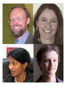 From top right: David Wildman, Lorelei Kelly, Sunita Viswanath and Mark Engler.