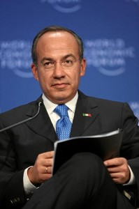 Mexican President Felipe Calderon. Credit: World Economic Forum