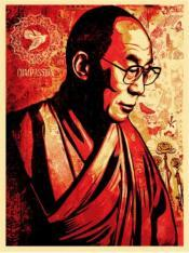 Portrait of His Holiness the Dalai Lama
