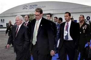 Gates attends NATO ministerial