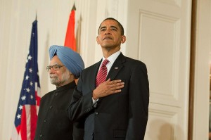 President Barack Obama and Prime Minister Manmohan Singh at the White House, Nov. 24, 2009