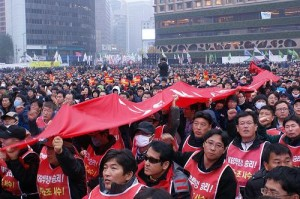 G20 Protest in Seoul; image courtesy of TNI