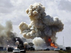 Air strike in Libya