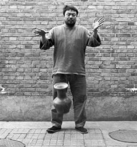 The artist Ai Weiwei