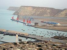 The port in Gwadar, Pakistan