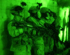 Night raid in Afghanistan