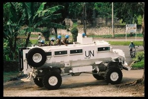 UN Troops in the DRC; photo by Oliver Gruer-Lavin via Flickr