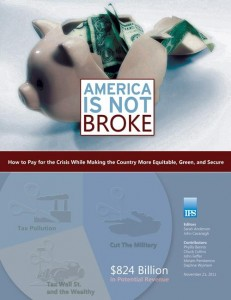 America Is Not Broke Cover