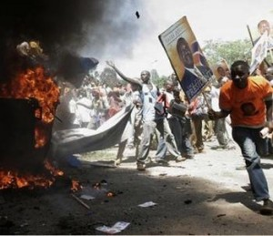 2009 post-election violence in Kenya