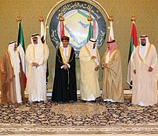 Leaders of the six-nation Gulf Cooperation Council.