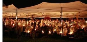 Jeju Island protestors