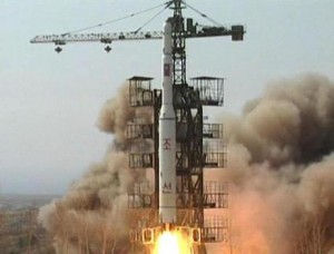 North Korean satellite launch