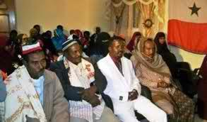 Meeting of the Gabooye clan in Somalia