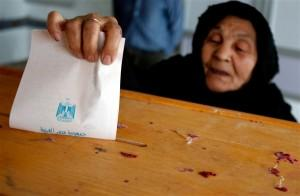 Voting in the Egyptian election