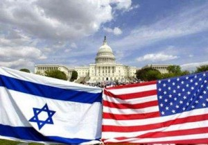 US-Israeli Flags