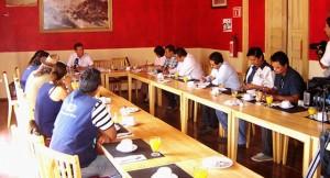Electoral observer training in Guanajuato
