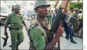 Haitian soldiers
