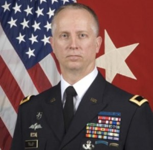Army Brigadier General Neil Tolley