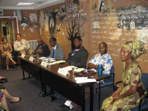panelist and moderator