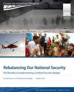Unified Security Budget FY2013 Cover