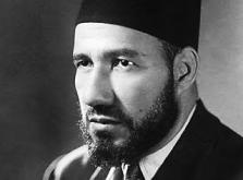 Muslim Brotherhood founder Hassan al-Banna.