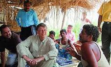 Bill Gates -- spreading the wealth?