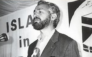 Rachid Ghannouchi, leader of Tunisia's Ennahda party. Courtesy Wikimedia Commons.