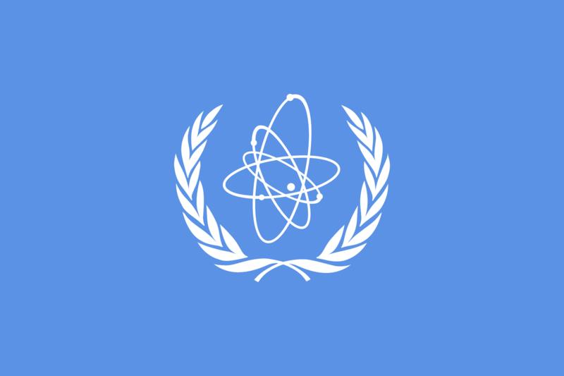International Atomic Energy flag