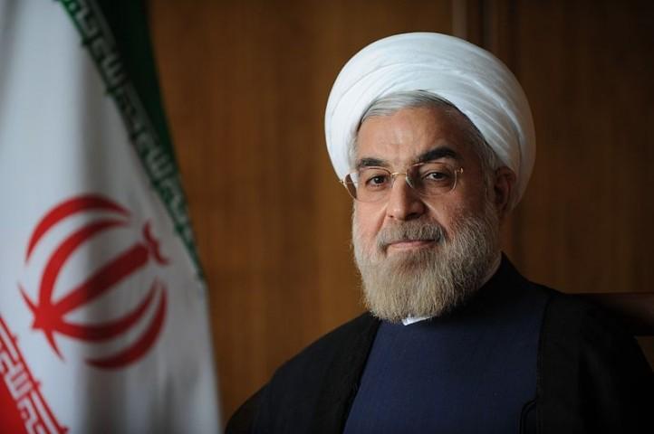Iran President Hassan Rouhani. Courtesy Wikimedia Commons.