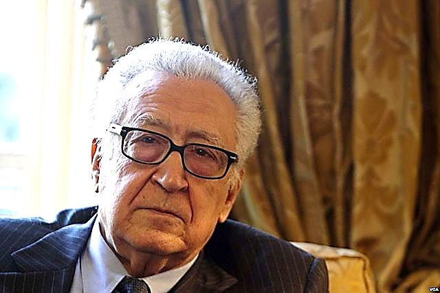 Diplomat Lakhdar Brahimi, architect of the Taif Accord. Courtesy Wikimedia Commons
