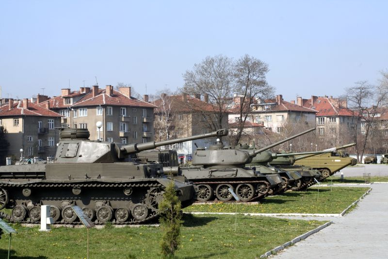 Letter From Sofia: Old Tanks and Modern Mayhem