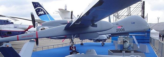 Israeli drones. Wikimedia Commons
