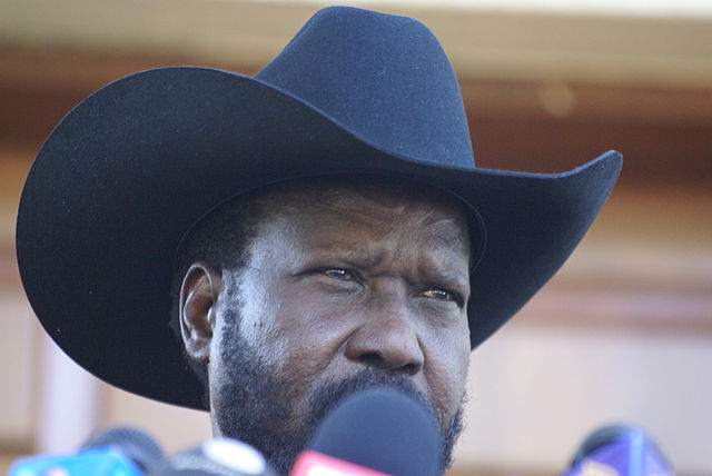 South Sudan President Salva Kiir. Image Wikimedia Commons