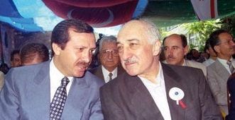 Turkish Prime Minister Recep Tayyio Erdogan and Fethullah Gulen