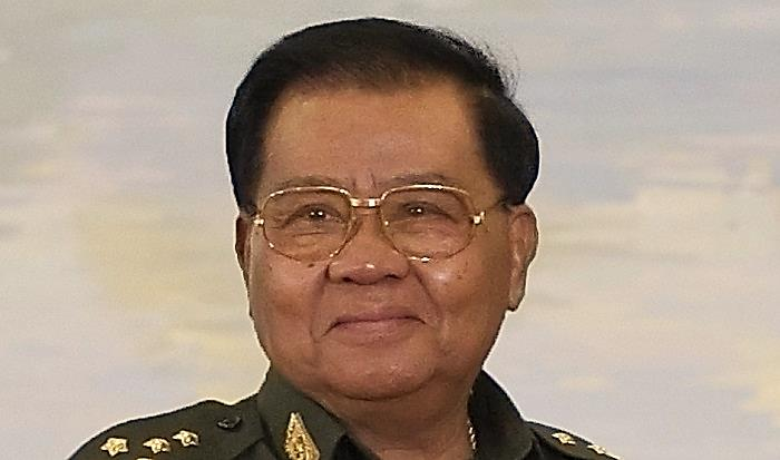 Than Shwe, former head of Burma's junta