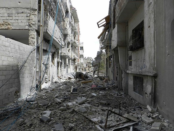 Homs. Image Wikimedia Commons