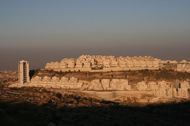 Israeli settlement in Har Homa. Image Wikimedia Commons