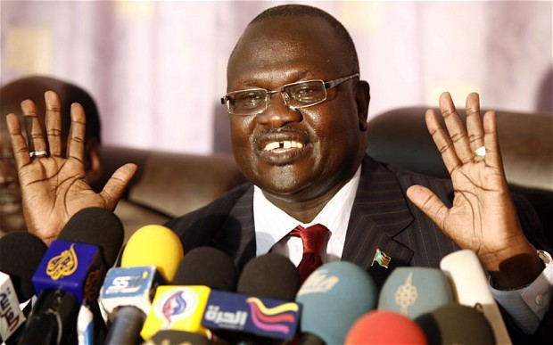 Rebel leader Riek Machar