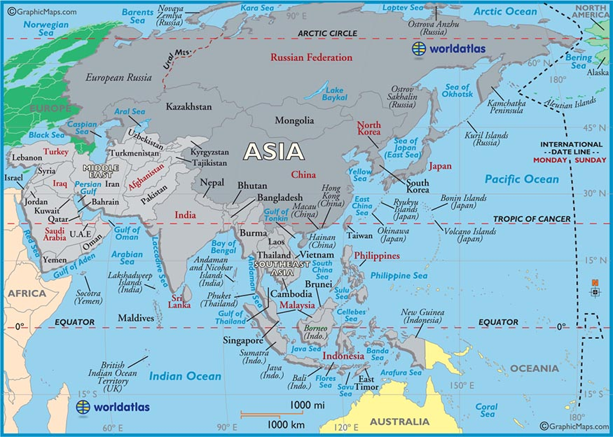 Atlas Map Asia Map Image World Atlas Jpg