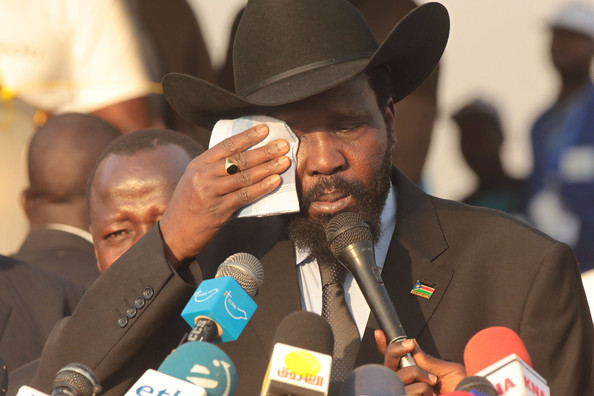 South Sudan President Salva Kiir Mayardit