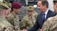 David Cameron greets the Scottish military. What will the foreign policy of a free Scotland look like? (Photo: Crown Copyright / Flickr)
