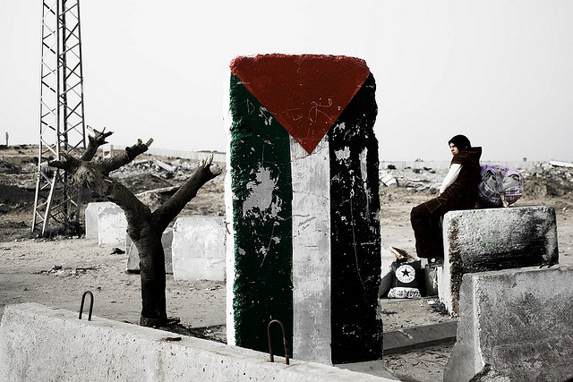 Essentially all of Gaza has become a military target. (Photo: Kashfi Halford / Flckr)