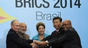 BRICS leaders in Brazil