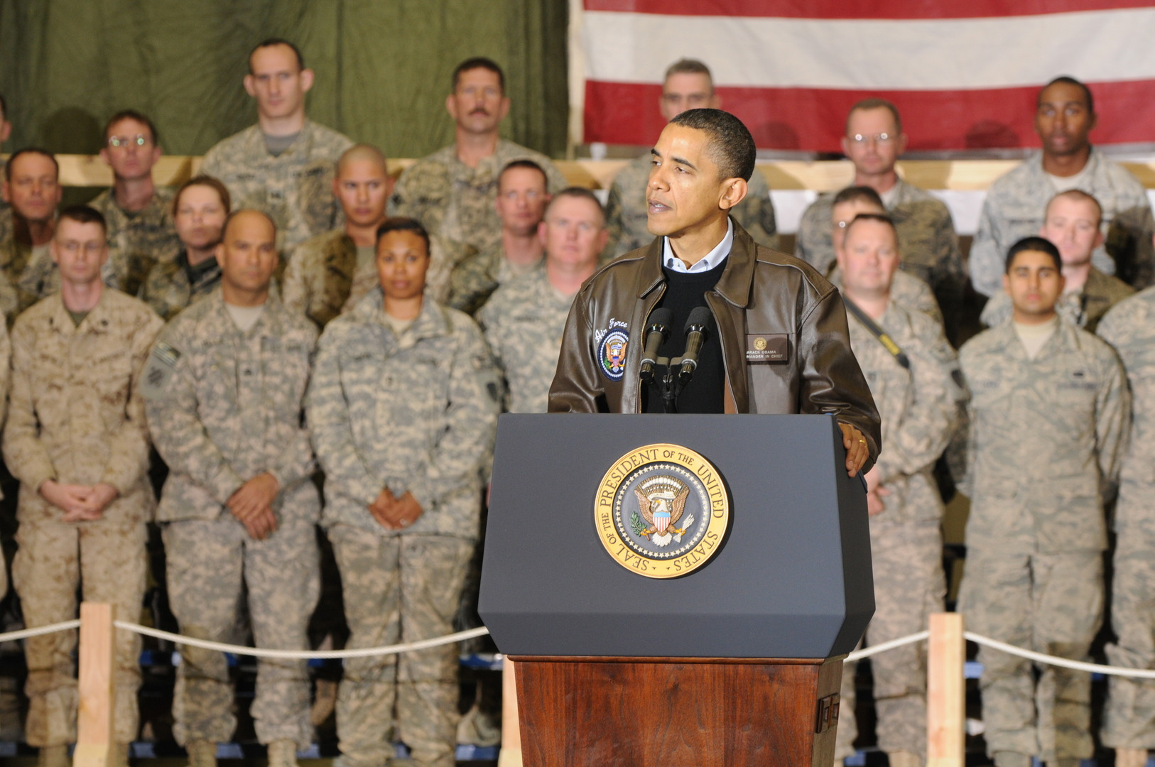 Obama's Mythical Retreat from Military Force