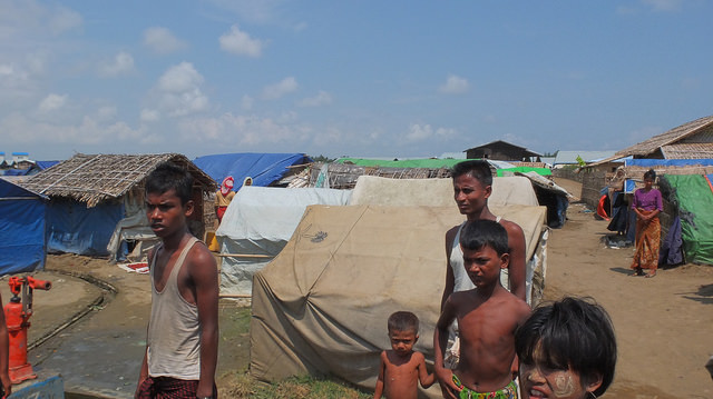 Rohingya Muslims: object of Myanmar Buddhists' enmity. (Photo: EU-ECHO / Flickr)